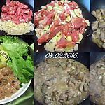 recette Sauté de porc.sauce champignons.