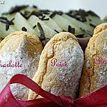 CHARLOTTE AU CHOCOLAT ET POIRE