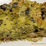 recette Gratin de chou fleur et brocoli à la Fourme d'Ambert