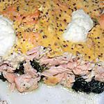 recette Gratin saumon épinards ricotta (compatible dukan)