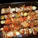 recette Brochettes de filet mignon de porc