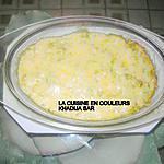recette Gratin de pâtes aux crevettes