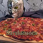 recette Pizza (pâte épaisse et moelleuse)