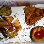 """recette Crêpes et mini-crêpes fourrées """" sans gluten"""" de la chandeleur"""