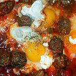 recette Tajine  de keftas aux oeufs (compatible dukan)