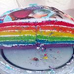 recette Rainbow Cake (Gâteau Arc-en-Ciel)