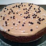 recette Gâteau chocolat & meringue café