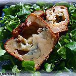 recette Cake au gorgonzola, miel & romarin