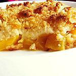recette CRUMBLE ANANAS MANGUE