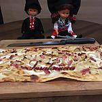 recette Flammekueche (tarte flambée Alsacienne)