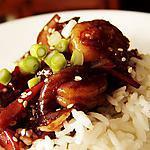 recette Sauté de crevettes au sésame
