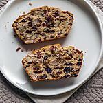 recette Gâteau du matin aux fruits secs