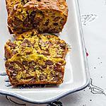 recette Cake au confit de canard et aux noix