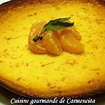 recette Le fiadone à la clémentine (gâteau Corse)