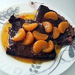 recette Crêpes au cacao suzette a l'orange