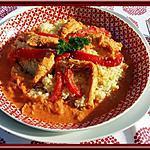 recette Sauté de dinde aux poivrons & paprika