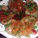 recette Foie de veau aux échalotes et muscadet