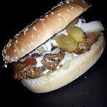 recette Burger kebab-frites