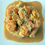 recette Risotto de crevettes dukan