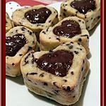 recette Financiers tigrés au chocolat