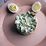 recette tartare d'avocat,Ecrevisses,crevettes,surimi.