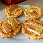 recette Quichettes aux camembert