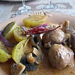 recette sop-l'y-laisse de dinde aux champignons