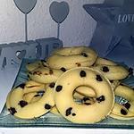 recette Donuts au pépites de chocolat au four
