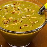 recette Soupe aux pois cassés et pignons de pin