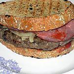 recette Panini burger dukan