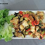 recette Poulet et légumes mijotés au four