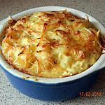 recette Gratin de gnocchis aux fromages
