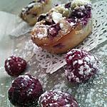recette Clafoutis individuels aux framboises et aux amandes