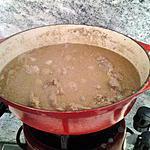 recette Daube de sanglier a la biere moutarde ancienne et miel