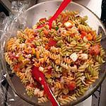 recette Salade fraîche de pates