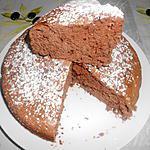 recette BISCUIT DE SAVOIE AU CHOCOLAT