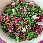 recette Salade de quinoa, betterave et fêta