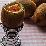 recette Kiwi à la coque