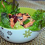 recette Salade carottes-raisins