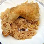 recette Poulet au riz et au citron