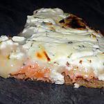 recette Pizza au saumon fumé dukan