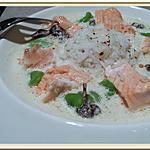 recette Blanquette de saumon aux fèves