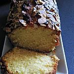 recette cake à la pâte d'amande