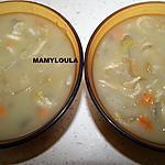 """recette Potage velouté aux endives """"anti-cholestérol"""""""