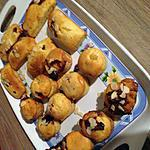recette Muffins nutella mars et autre parfum