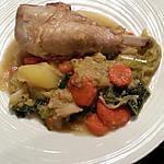 recette Cuisses de dinde aux carottes et chou de Savoie
