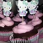 recette Cupcake cacao Hello Kitty