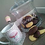 recette Biscuits marbré