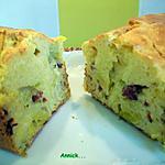 recette Cake aux poireaux & magret de canard séché