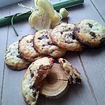 recette Cookies au coeur de créme de marron